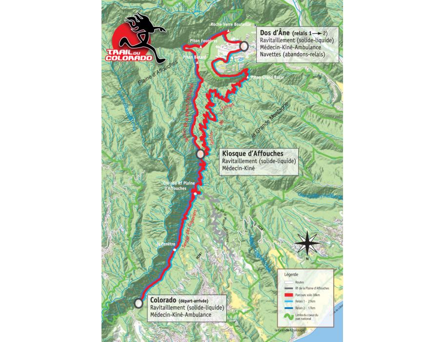 Affiche Trail du Colorado 2014