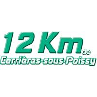 Logo 8° édition des 12 km de Carrières-sous-Poissy