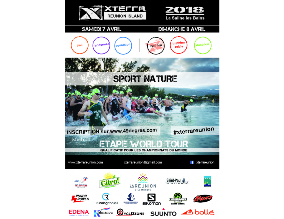Affiche XTERRA Réunion 2018