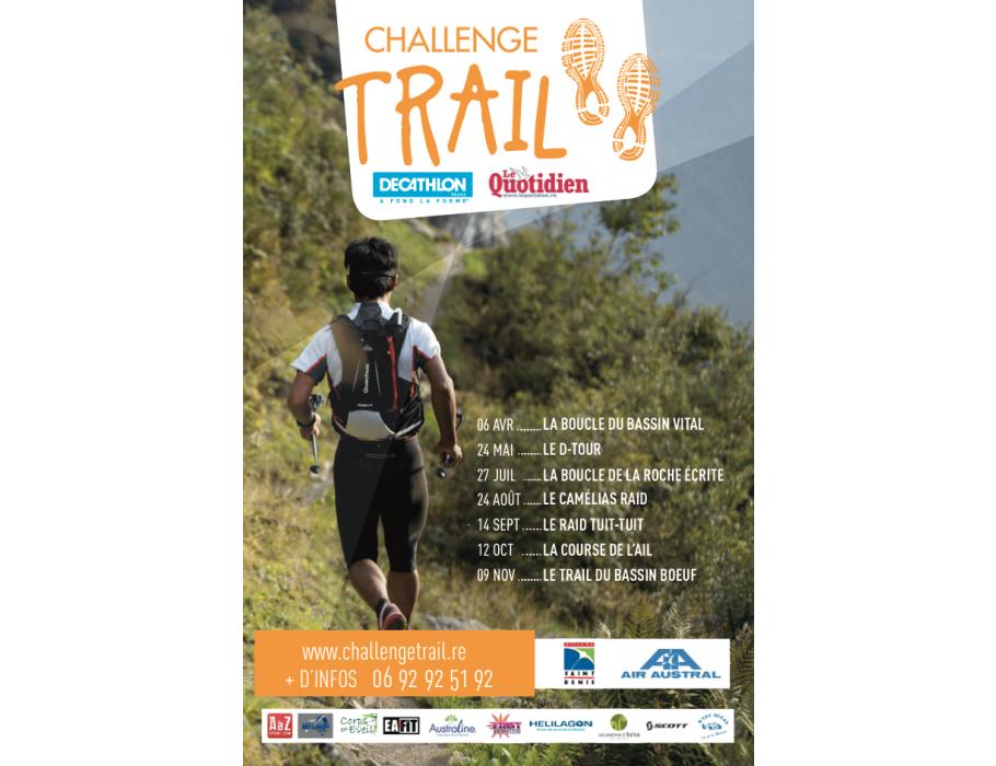 Affiche 3eme Edition Trail Bassin Boeuf