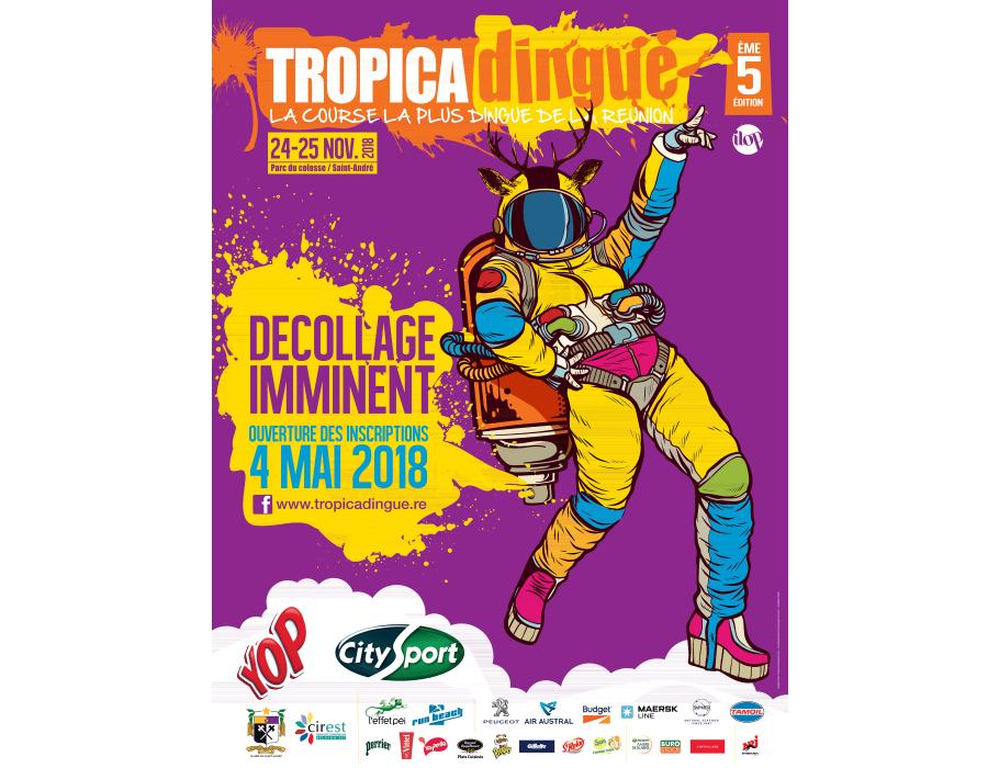 Affiche TROPICADINGUE : SAMEDI 24 NOV 2018